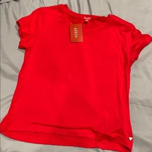 Guess size medium baby doll tee